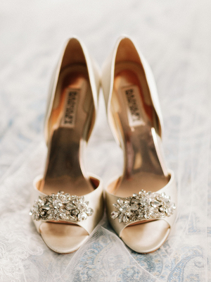 Gold Badgley Mischka Shoes