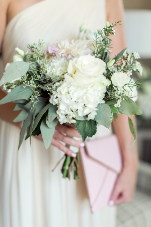 Ivory Bridesmaid Bouquet