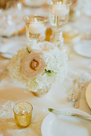 Ivory and Gold Reception