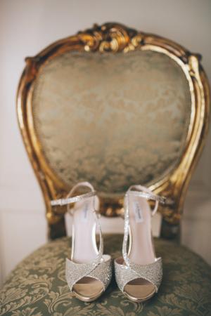 LK Bennett Silver Shoes