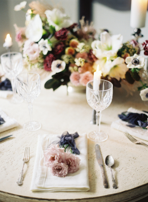 Mauve and Slate Wedding Ideas