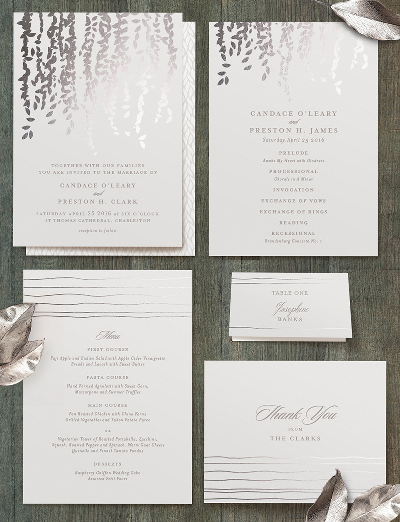 Minted wedding invitations 2 elizabeth anne designs the for Minted navy wedding invitations