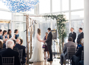 Modern Georgetown Winter Wedding 23
