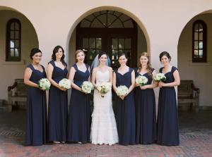 Navy Bridesmaids Dresses