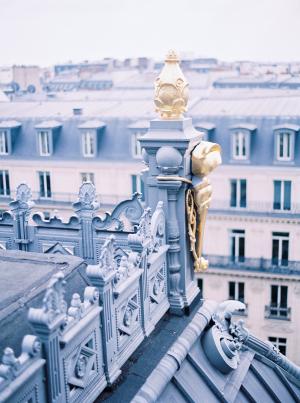Paris Rooftop Wedding Ideas Le Secret dAudrey 11