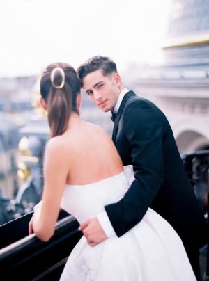 Paris Rooftop Wedding Ideas Le Secret dAudrey 12