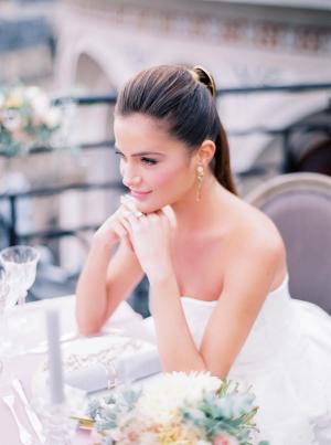 Paris Rooftop Wedding Ideas Le Secret dAudrey 14
