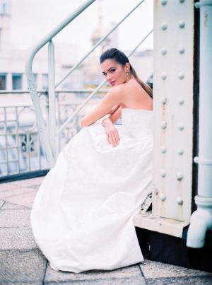 Paris Rooftop Wedding Ideas Le Secret dAudrey 4