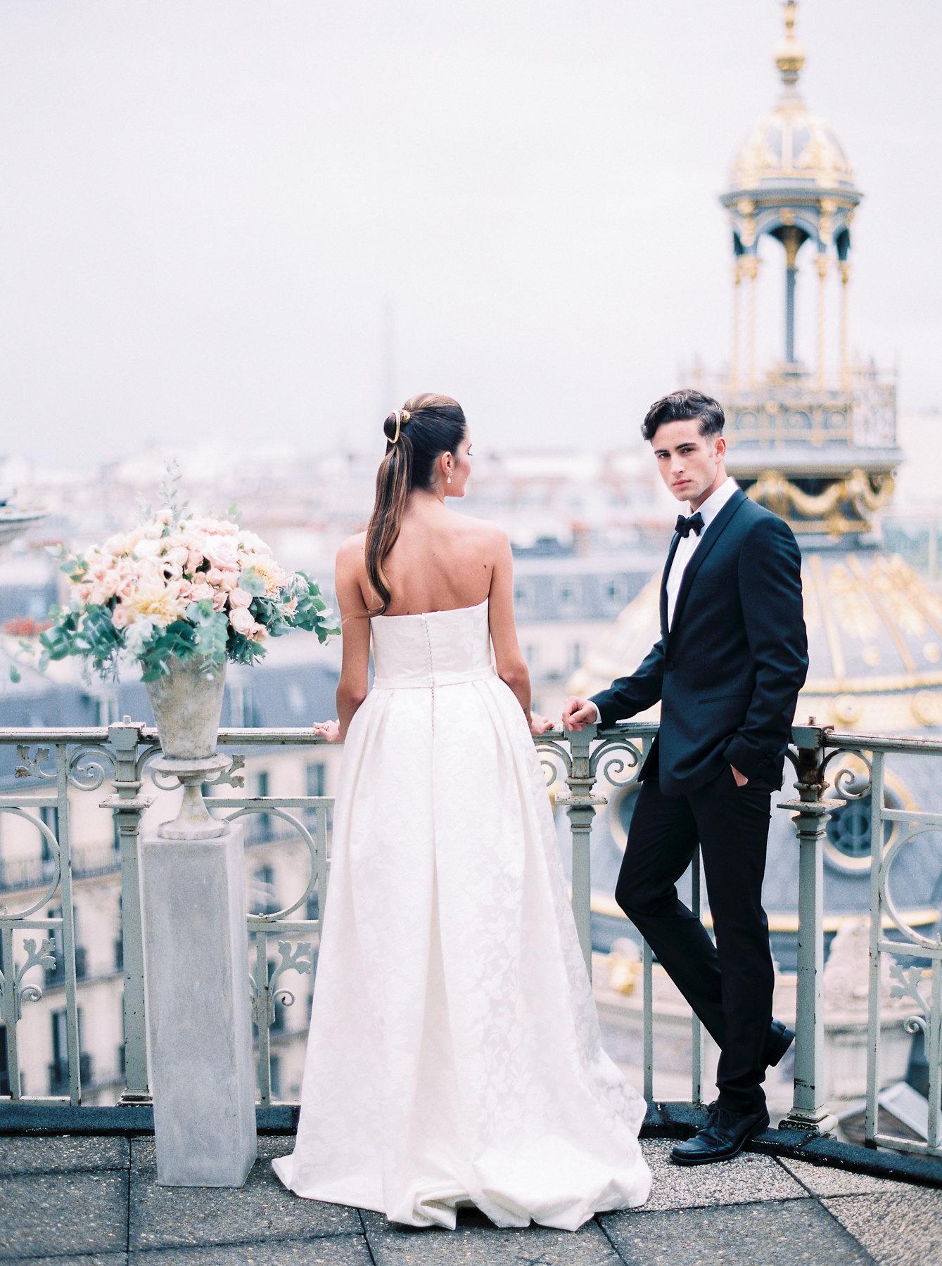 Paris Rooftop Wedding Ideas Le Secret Daudrey 6