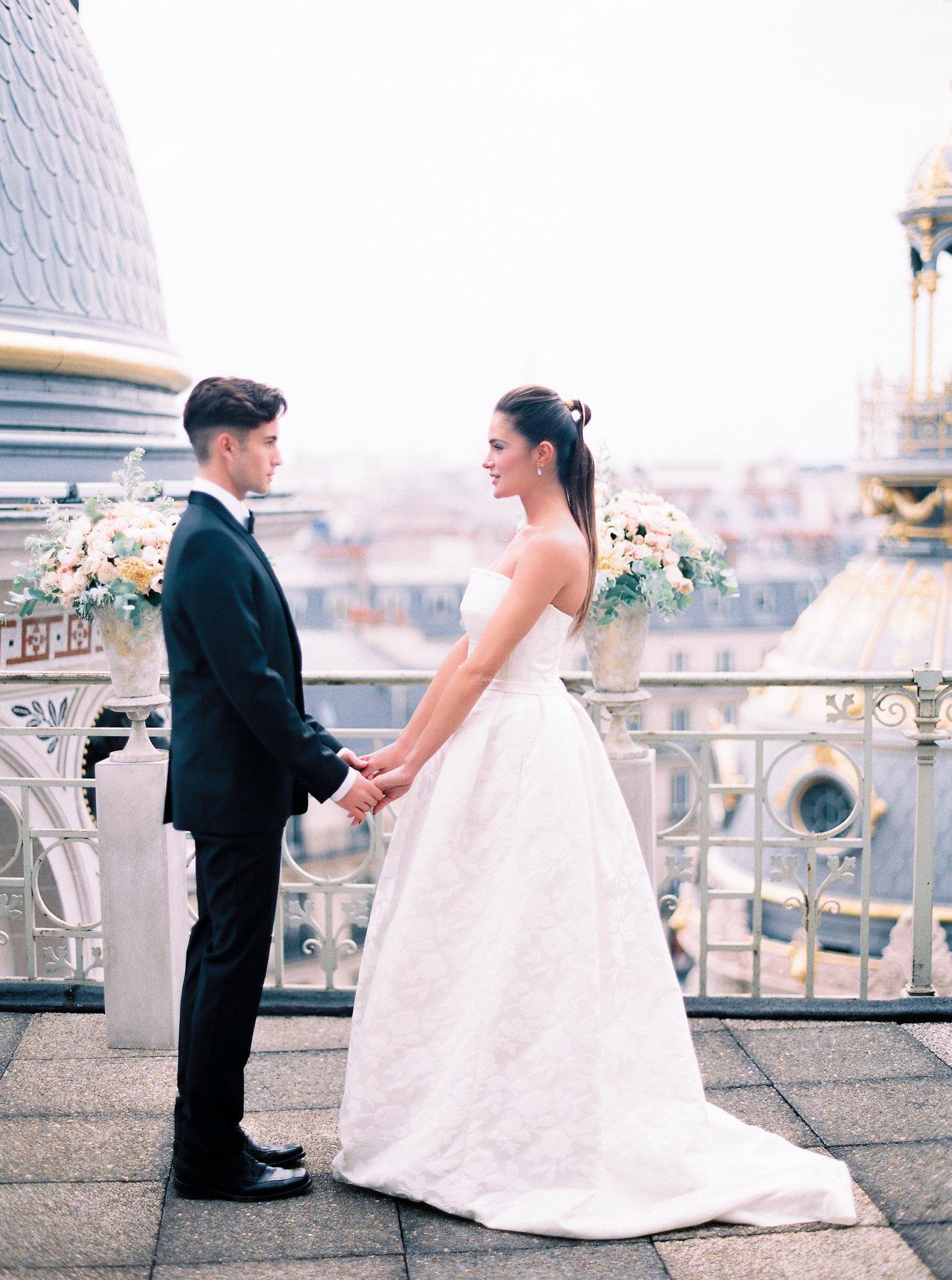Paris Rooftop Wedding Ideas Le Secret Daudrey 9
