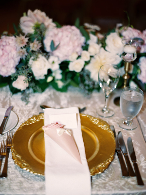 Pink and Gold Elegant Wedding