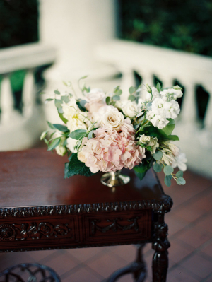 Pink and Green Flower Arrangement