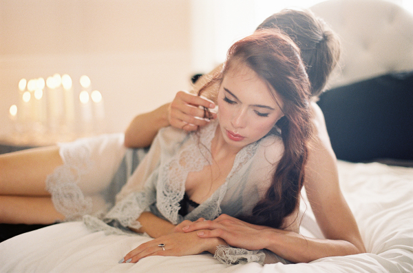 Romantic Boudoir Wedding Inspiration