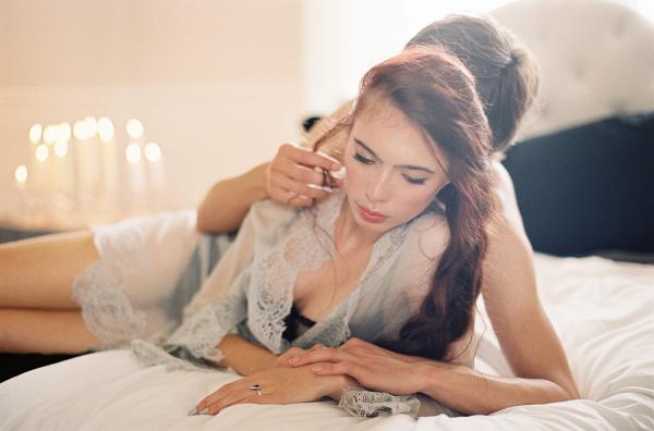 Romantic Boudoir Wedding Inspiration