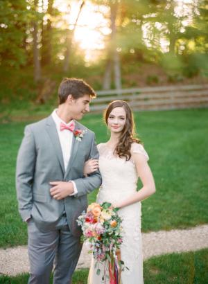 Spring Garden Wedding Ideas Cory Weber 10