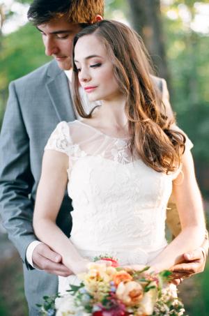 Spring Garden Wedding Ideas Cory Weber 15