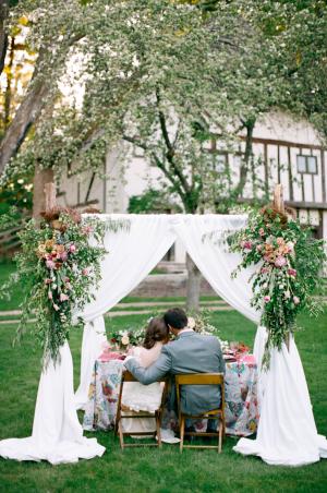 Spring Garden Wedding Ideas Cory Weber 16