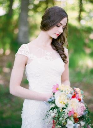 Spring Garden Wedding Ideas Cory Weber 2