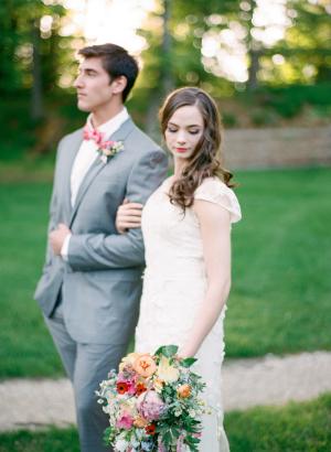 Spring Garden Wedding Ideas Cory Weber 8