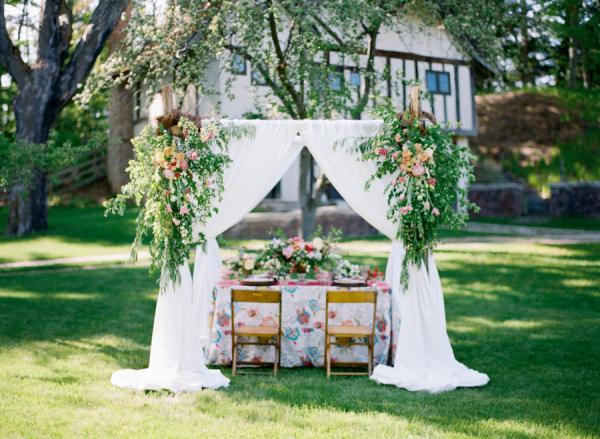 Spring Outdoor Wedding Ideas : Garden wedding inspiration elizabeth anne designs the