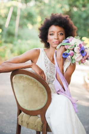 Bride in Temperley
