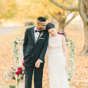 Burgundy and Berry Wedding Inspiration 11