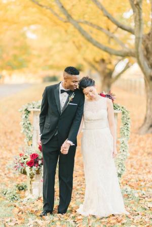 Burgundy and Berry Wedding Inspiration 11