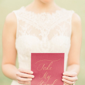 Burgundy and Berry Wedding Inspiration 13