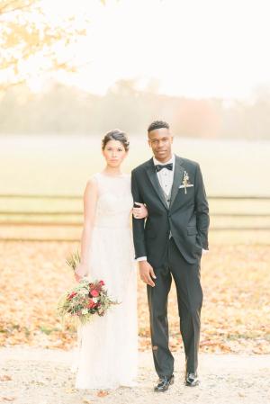 Burgundy and Berry Wedding Inspiration 15
