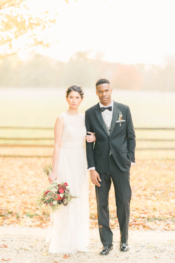 Burgundy and Berry Wedding Inspiration 15