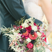 Burgundy and Berry Wedding Inspiration 2