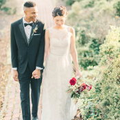 Burgundy and Berry Wedding Inspiration 9