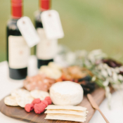 Cheese and Wine Platter at Wedding