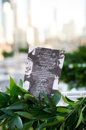 Chicago Rooftop Wedding Ceremony 1