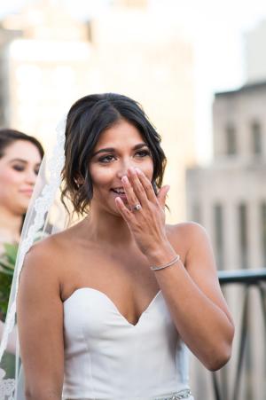 Chicago Rooftop Wedding Ceremony 4
