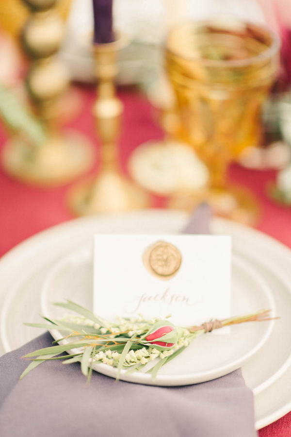 Copper and Berry Wedding Colors