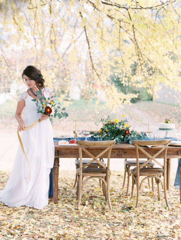 Ginkgo and Thistle Wedding Inspiration 13