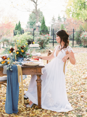 Ginkgo and Thistle Wedding Inspiration 9