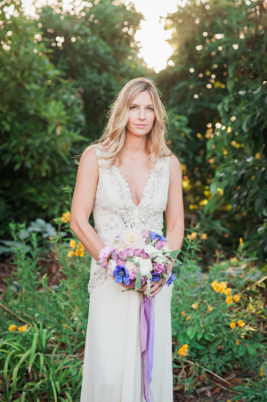Lavender and Berry Wedding Inspiration 10