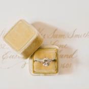 Mustard Ring Box
