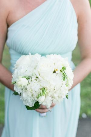 Pale Aqua Bridesmaid Dress
