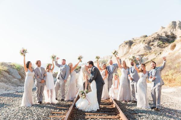 Bohemian San Clemente Wedding 3