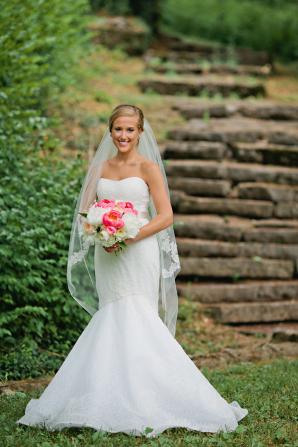 Bride in Mermaid Gown