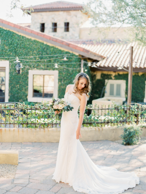 Bride in Scottsdale Wedding