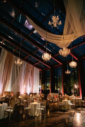 Dramatic Ballroom Wedding Draping