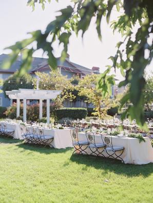 Elegant Outdoor Garden Wedding