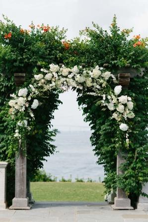 Elegant Outdoor Wedding Arbor