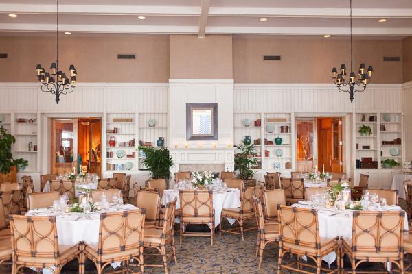Florida Beach Club Wedding Reception