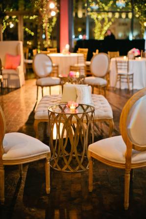 Gold Wedding Lounge Area