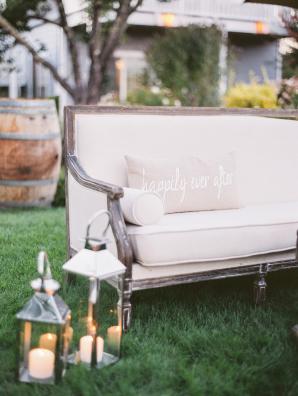 Lanterns at Wedding Lounge Area